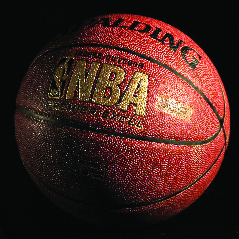 NBA ball royaltyfree