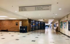 Northeastern Illinois University's halls remain empty as the university transitions to online instruction