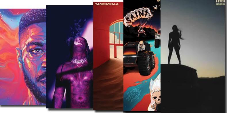 5 Albums that Got Us Through 2020
