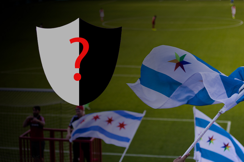 The project for a new crest is part of Joe Maunseto's quest to improve Chicago's soccer team brand. (Graphics and photo by Erwin Lopez Rada/ The Independent)