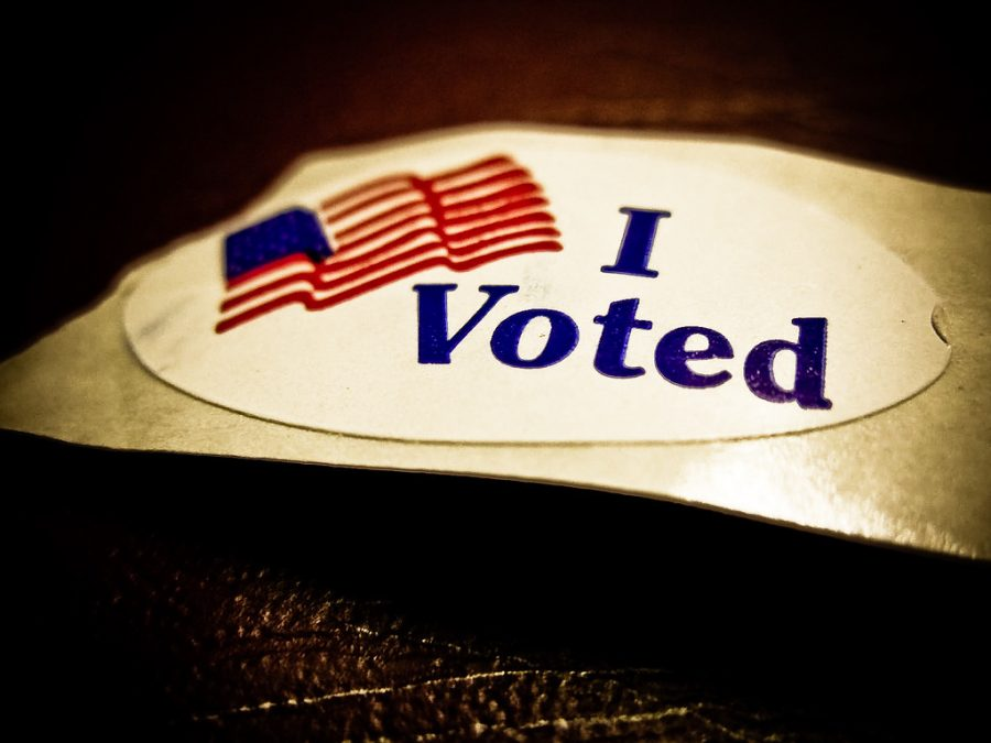 I Voted! by Vox Efx is licensed under CC BY 2.0