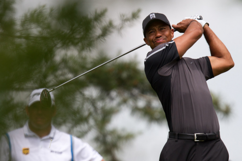 """""""Tiger Woods"""" by Omar Rawlings is licensed under CC BY-ND 2.0"""
