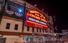 Wrigley Field proudly manifested the Cubs' achievement during that sweet in October 2016.