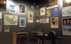 House-Studio replication and some posters of Carlos A. Cortez Koyokuikatl (1923-2005)